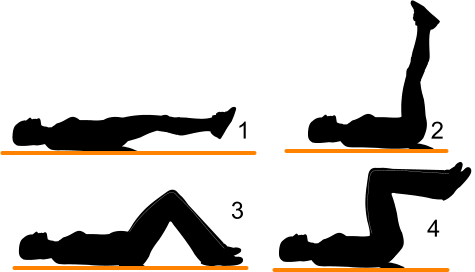Double Leg Reverse Crunches
