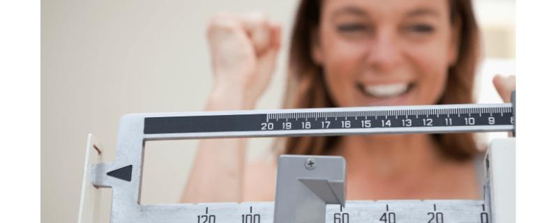 Op gewicht blijven
