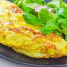 Paleo recept omelet