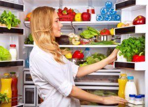 paleo dieet voedsel in koelkast