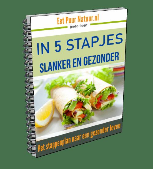 In 5 stapjes gezonder en slanker en gezonder eboek