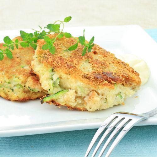 Groente koeken